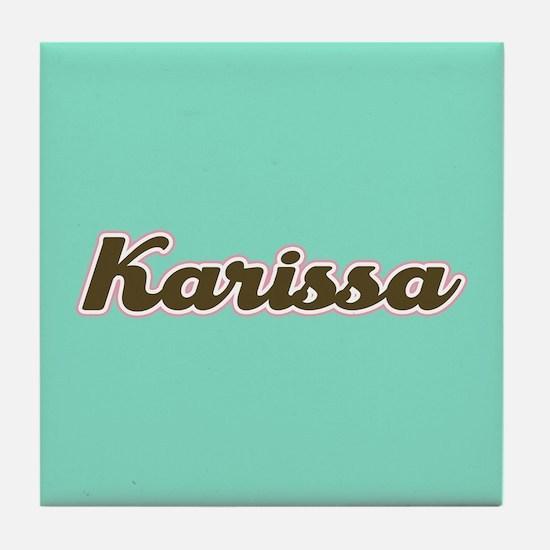 Karissa Aqua Tile Coaster