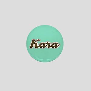 Kara Aqua Mini Button