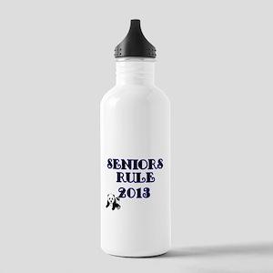 SENIORS RULE 2013-with Panda Water Bottle