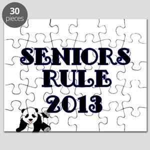SENIORS RULE 2013-with Panda Puzzle