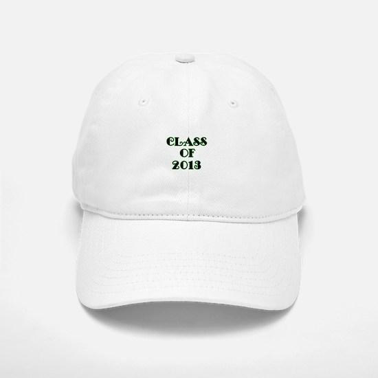 Class of 2013-lime green Baseball Baseball Baseball Cap