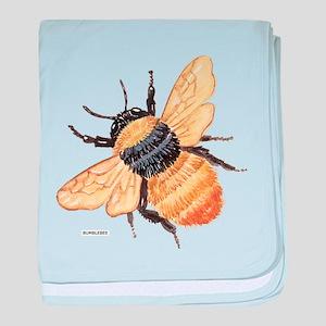 Bumblebee Insect baby blanket