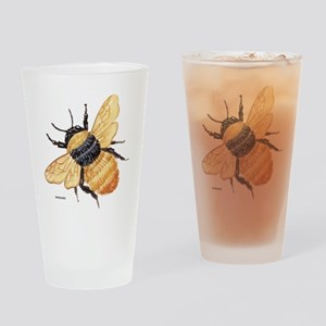 Bumblebee Insect Drinking Glass