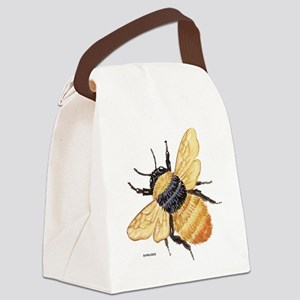 Bumblebee Insect Canvas Lunch Bag