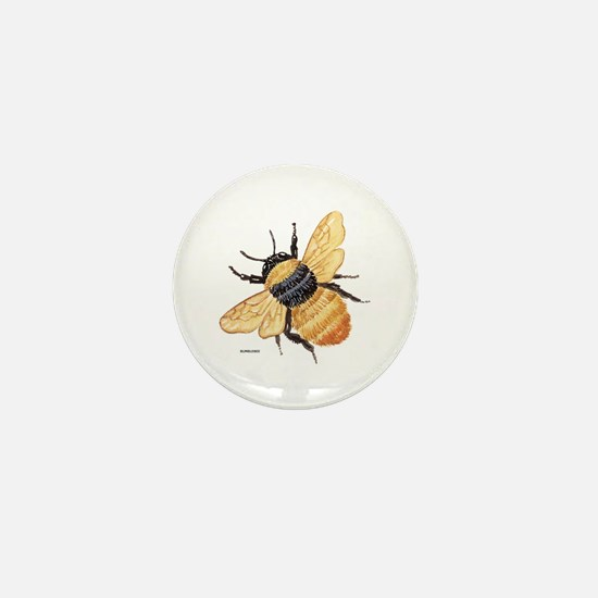 Bumblebee Insect Mini Button