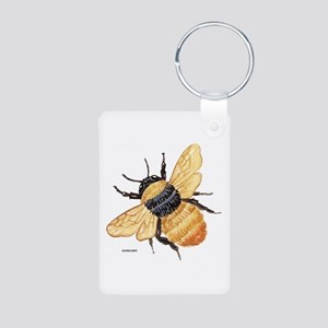Bumblebee Insect Aluminum Photo Keychain