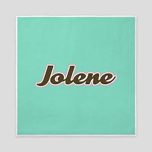 Jolene Aqua Queen Duvet