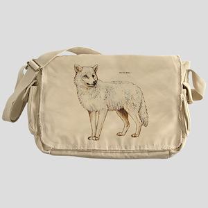 Arctic Wolf Messenger Bag