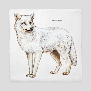 Arctic Wolf Queen Duvet