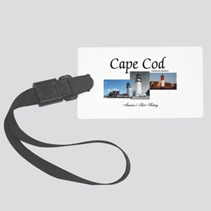 Cape Cod Americasbesthistory.com Large Luggage Tag