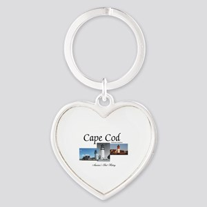 ABH Cape Cod Americasbesthistory.co Heart Keychain