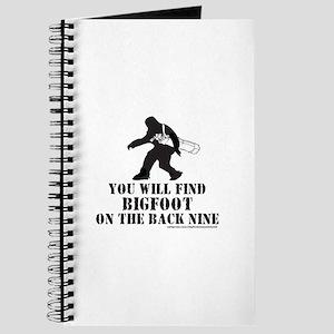 BIGFOOT ON THE BACK NINE Journal