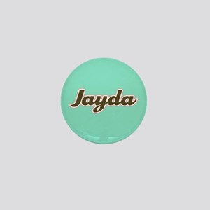 Jayda Aqua Mini Button