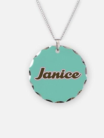 Janice Aqua Necklace