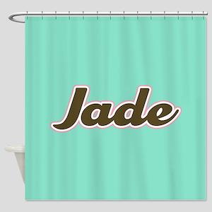 Jade Aqua Shower Curtain