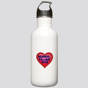 Senior class of 2013 with Red Heart Water Bottle