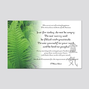 Reiki Principles Mini Poster Print
