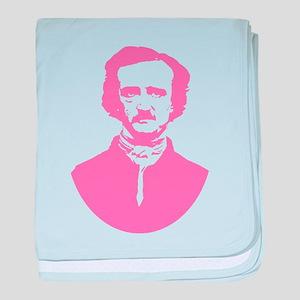 Pink Poe baby blanket