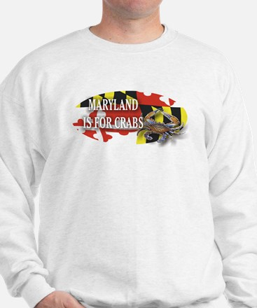 MARYLAND BLUE CRAB Sweatshirt