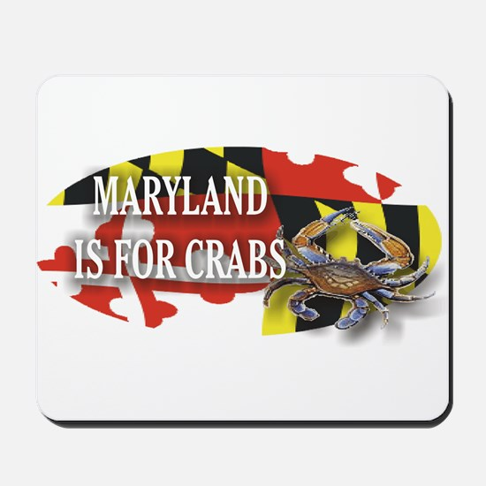 MARYLAND BLUE CRAB Mousepad
