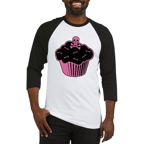 Pink Poison Cupcake Baseball Jersey