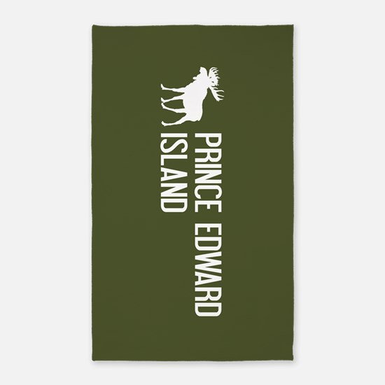 Prince Edward Island Moose Area Rug