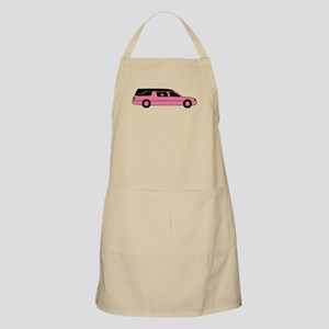 Pink And Black Hearse Apron