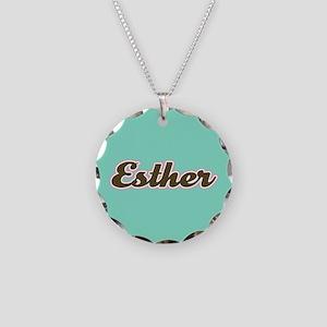 Esther Aqua Necklace