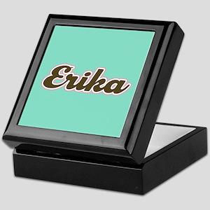 Erika Aqua Keepsake Box