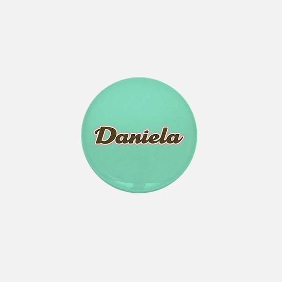 Daniela Aqua Mini Button