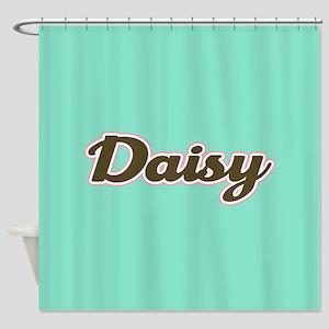Daisy Aqua Shower Curtain