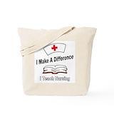 Nursing instructor Canvas Tote Bag
