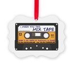WRFR's I Made You This Mix Tape Ornament