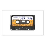 WRFR's I Made You This Mix Tape Sticker