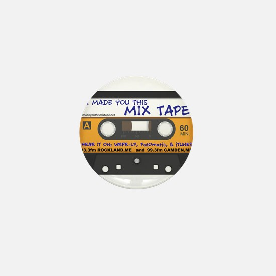 WRFR's I Made You This Mix Tape Mini Button