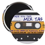 WRFR's I Made You This Mix Tape Magnet