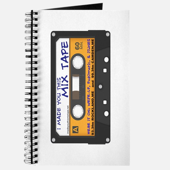 WRFR's I Made You This Mix Tape Journal