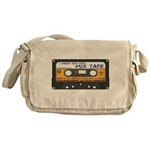 WRFR's I Made You This Mix Tape Messenger Bag