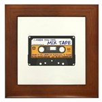 WRFR's I Made You This Mix Tape Framed Tile