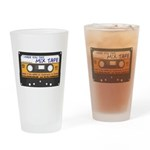 WRFR's I Made You This Mix Tape Drinking Glass