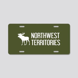 Northwest Territories Moose Aluminum License Plate
