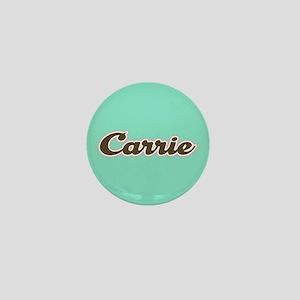 Carrie Aqua Mini Button