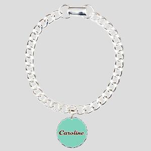 Caroline Aqua Bracelet