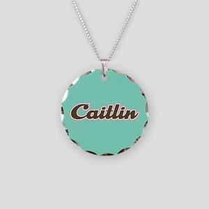 Caitlin Aqua Necklace