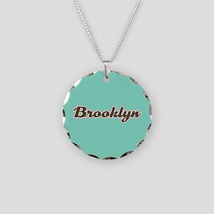 Brooklyn Aqua Necklace