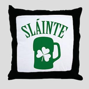 SLAINTE Throw Pillow