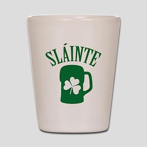 SLAINTE Shot Glass
