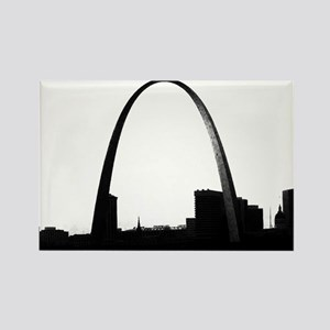 Gateway Arch - Eero Saarinen Rectangle Magnet
