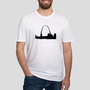 Gateway Arch - Eero Saarinen Fitted T-Shirt