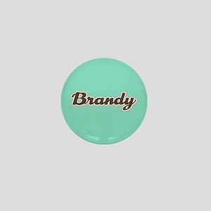Brandy Aqua Mini Button